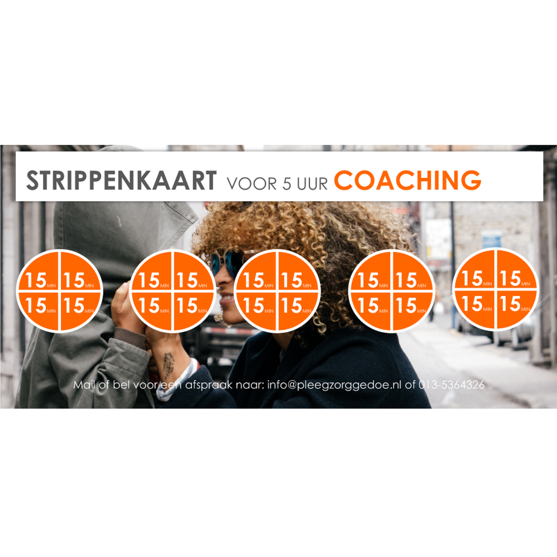 strippenkaart 5 uur coaching
