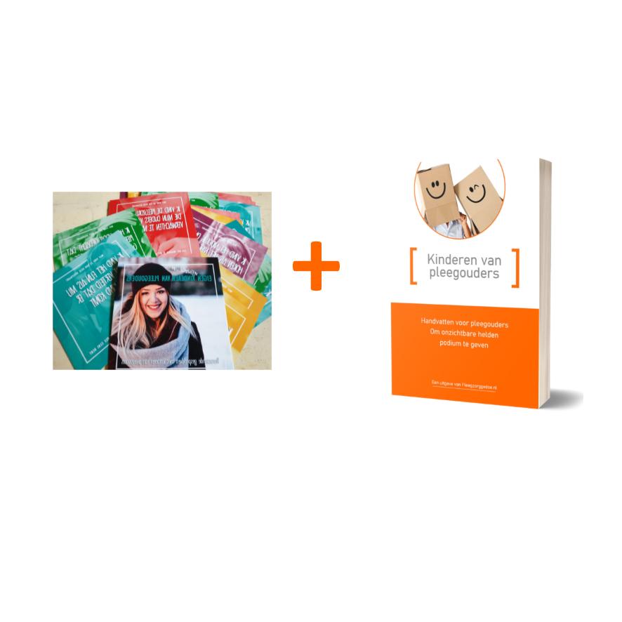 Aanbieding Eigen kinderen van pleegouders E-book en kaartset